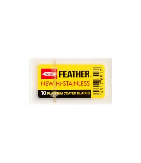 Сменные лезвия Feather 10 шт.