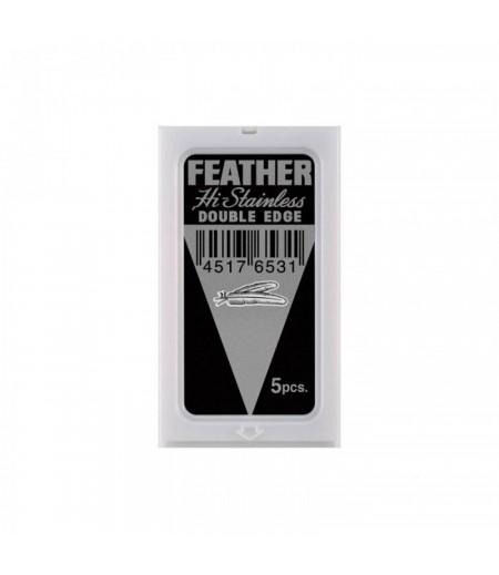 Сменные лезвия Feather 5 шт.