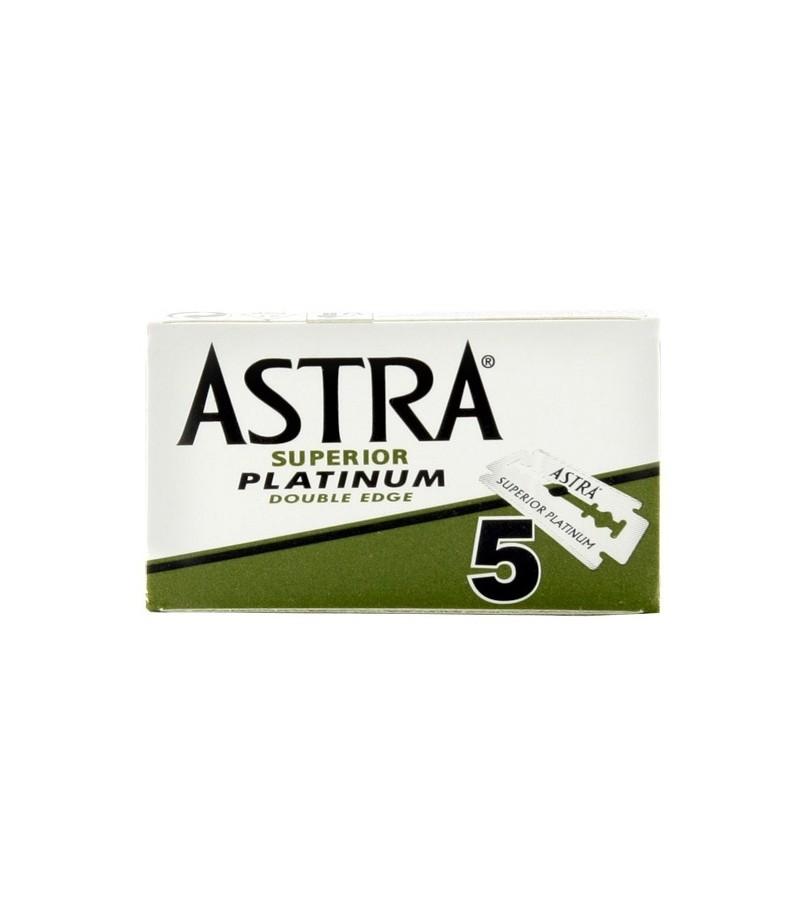 Сменные лезвия Astra Platinum 5 шт.