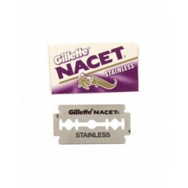 Сменные лезвия Gillette Nacet 10 шт.