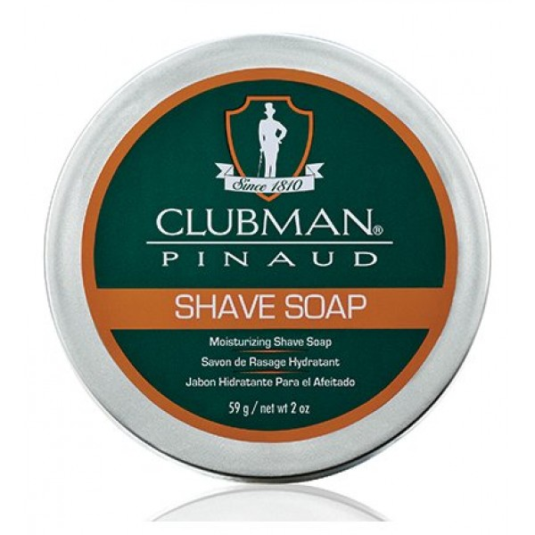 Clubman натуральное мыло для бритья, 59 г