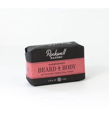 Мыло для бороды и умывания Rockwell, 170 гр