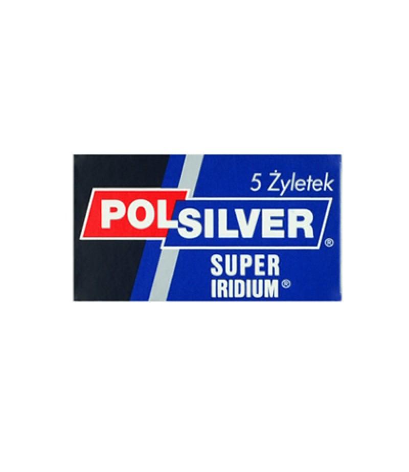 Сменные лезвия POLSILVER Super Iridium, 5 шт.