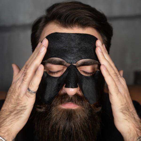 Тканевая пробуждающая детокс-маска