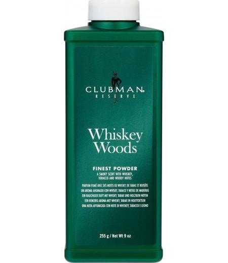 Clubman Whiskey Woods Powder Тальк универсальный с запахом виски, 255 гр
