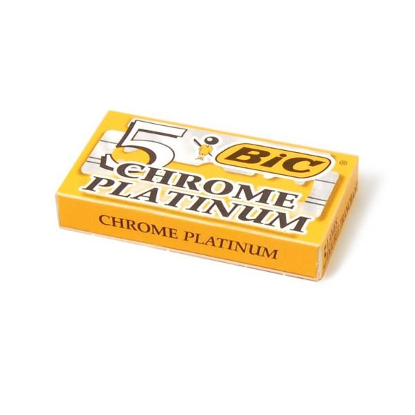 Сменные лезвия Bic Chrome Platinum 5 шт.