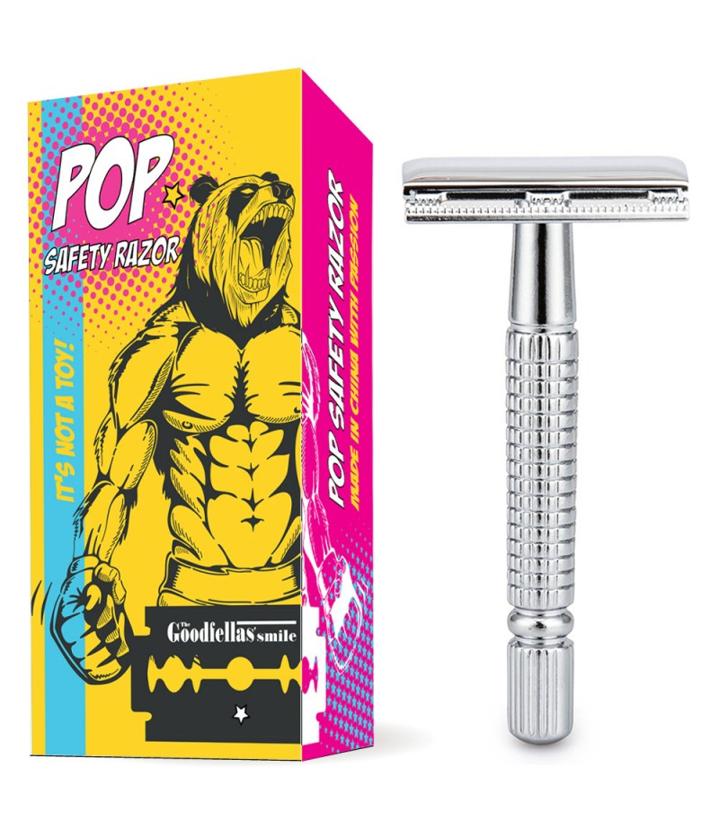 Т-образная бритва  POP closed comb