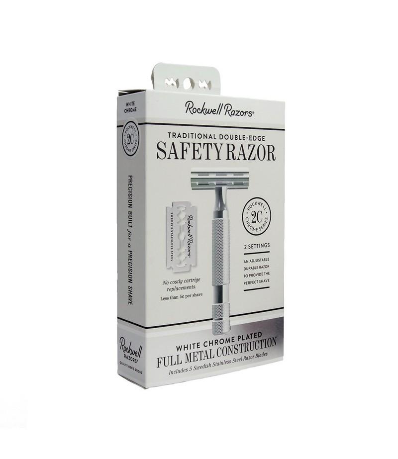 Rockwell Razors 2C, белый хром