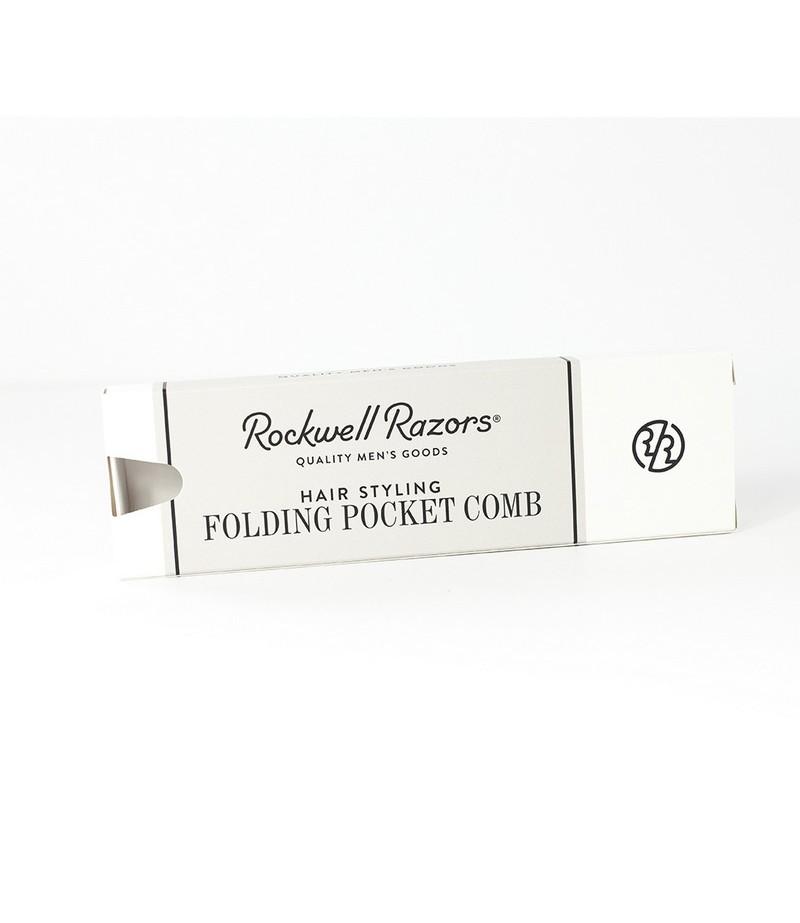 Мужская складная расческа для волос Rockwell