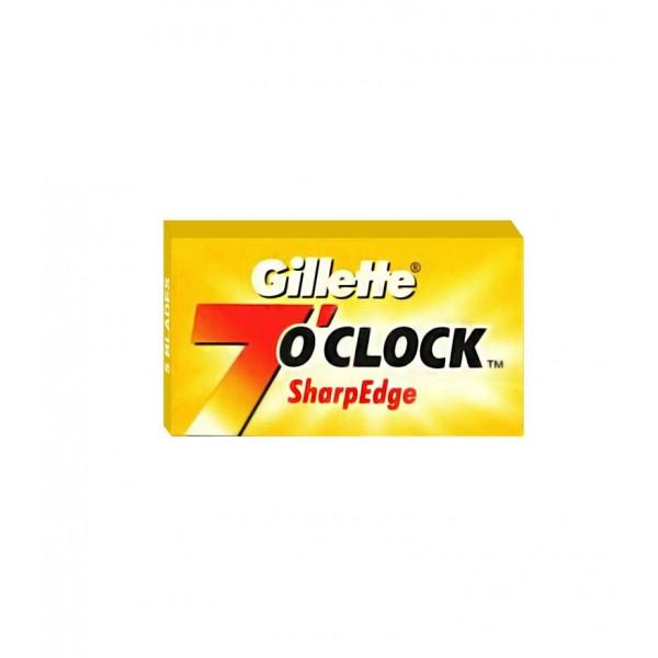 Сменные лезвия Gillette 7 O'Clock Sharp Edge 5 шт