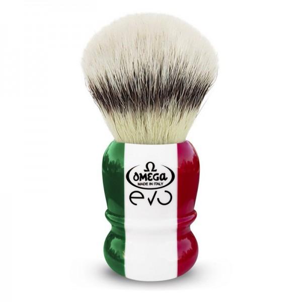 Помазок Omega EVO SPECIAL Tricolore, синтетика