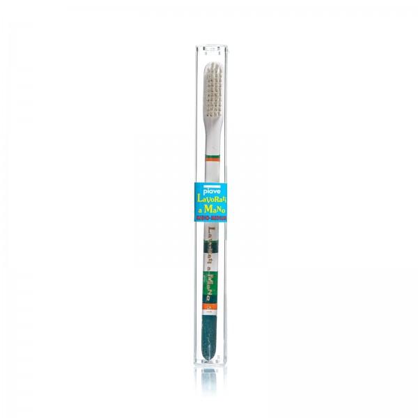 Зубная щетка Piave, цвет зеленый
