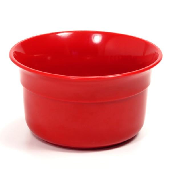 Чаша для бритья Omega красный пластик