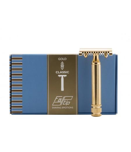 Т-образная бритва Fatip Grande Gold