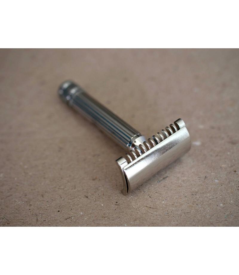 Т-образная бритва Fatip Grande Nickel