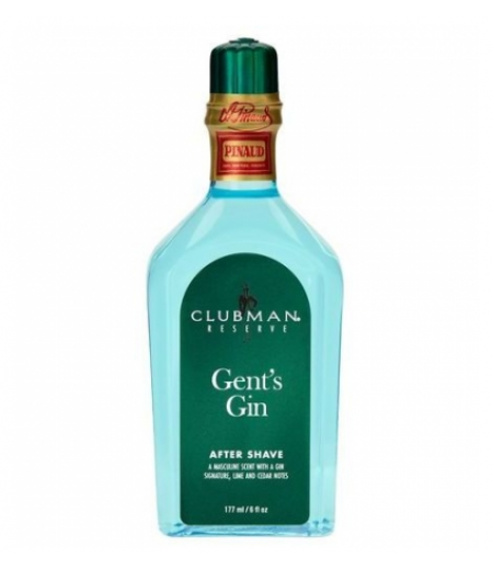 Clubman Gent Gin Лосьон после бритья, 177 мл