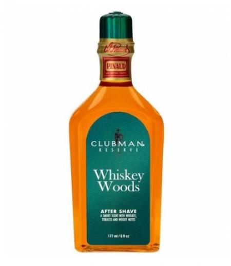 Clubman Лосьон Whiskey Woods после бритья, 177 мл