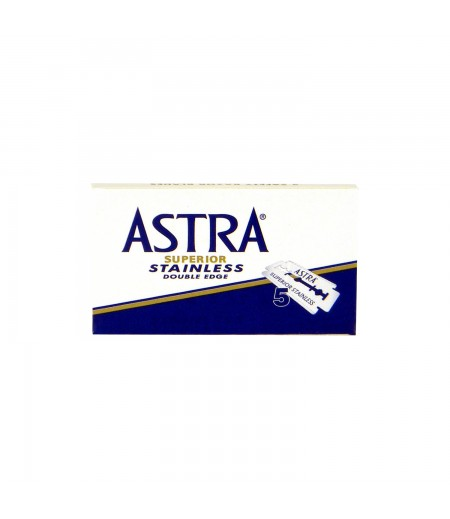 Сменные лезвия Astra Stainless 5 шт.